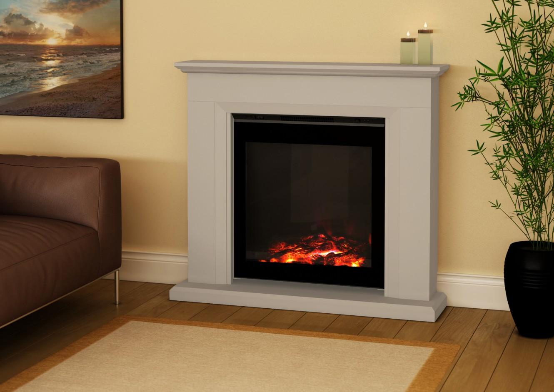 R alisations chemin e lectrique style ancien et moderne - Fabriquer une fausse cheminee ...