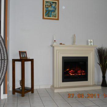 cheminee electrique installation 3